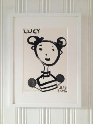 Lucy + Rahmen