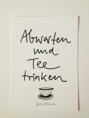 Teetrinken
