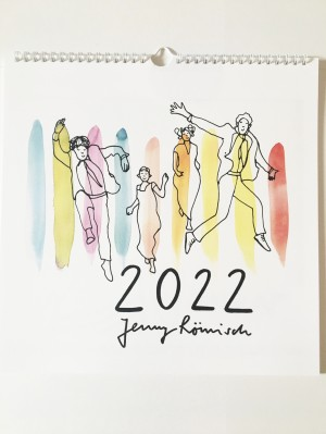"""Kunstkalender """"Farbtupfer"""""""